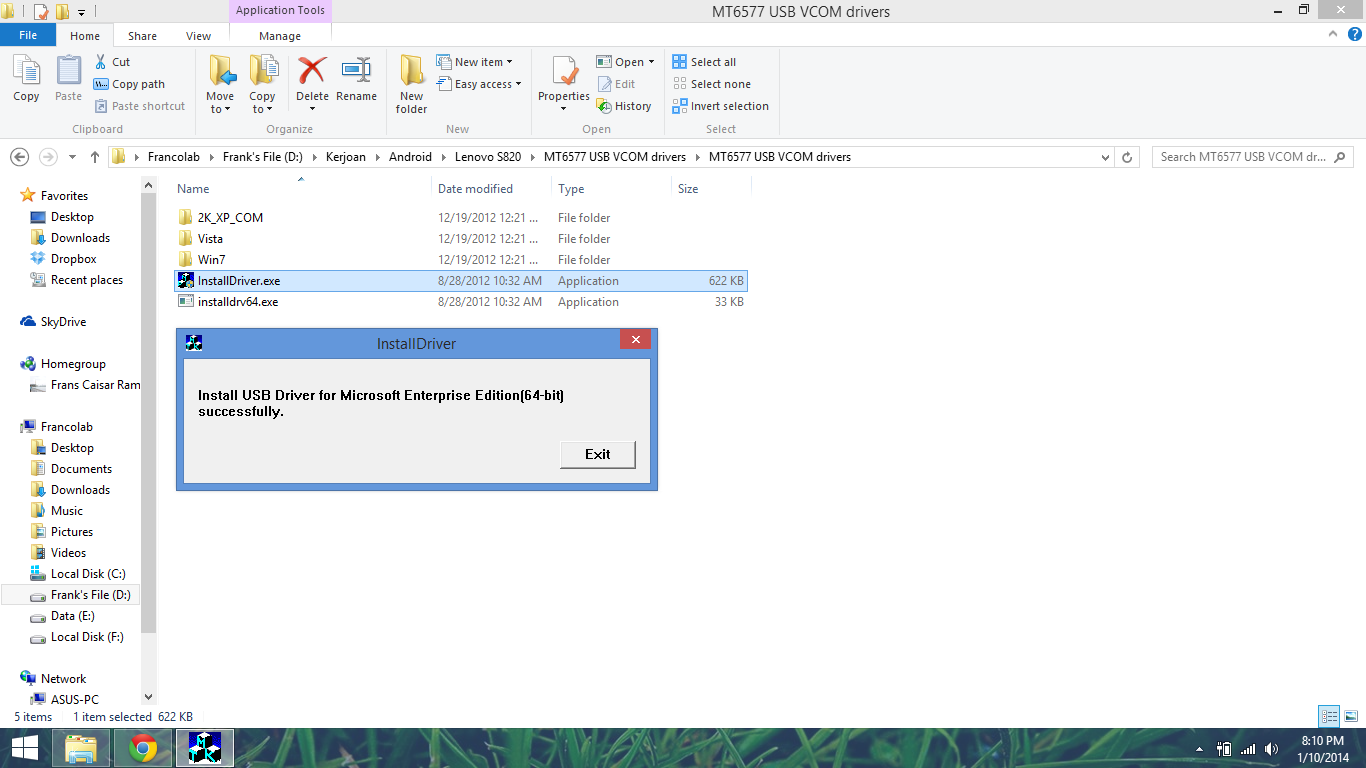 Download MTK Driver Auto Installer (all versions)
