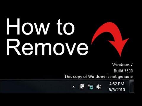 How to fix Windows 7 Not Genuine Error