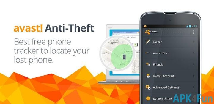 Free Download Avast Anti-Theft 4.2.0 APK