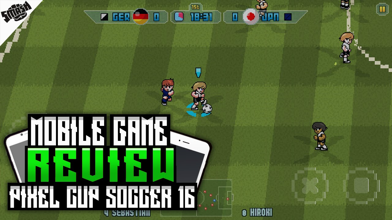Free Pixel Cup Soccer Iphone Game Download
