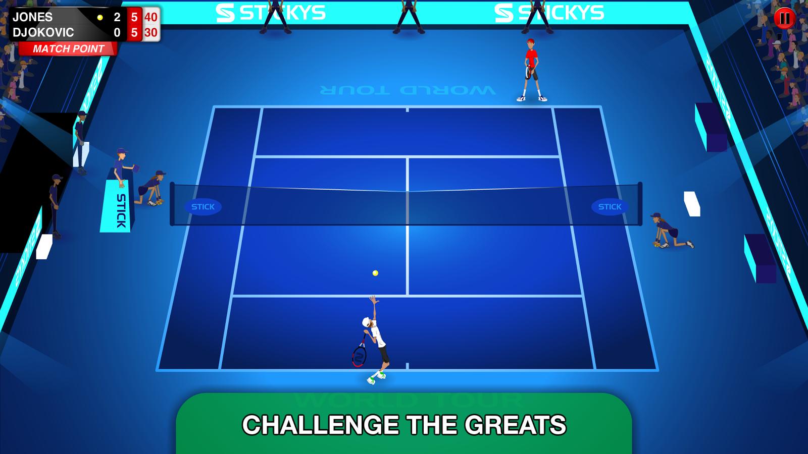 Free Stick Tennis Tour Iphone Game Download