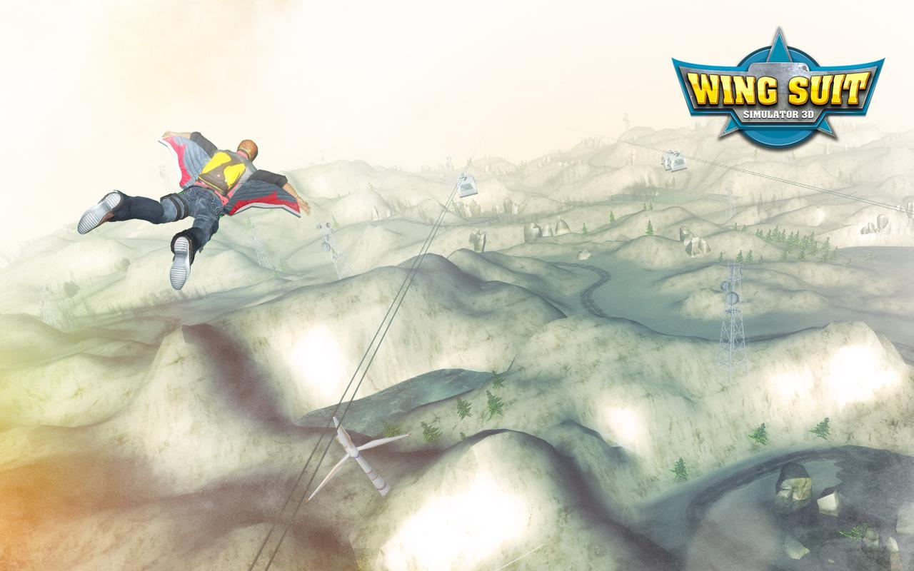Free Wing Suit Flying Simulator Iphone Game Download