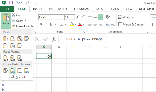How To Link Cells In Excel