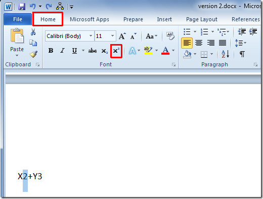 How to Do Subscript and Superscript in Word