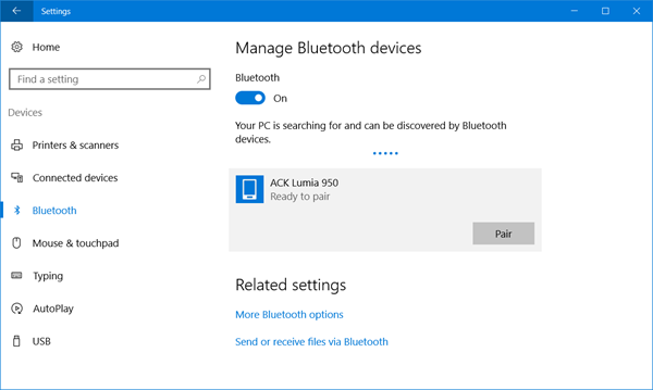 How to Turn Off Bluetooth on Windows 10