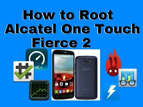 How to root Alcatel One Touch Fierce