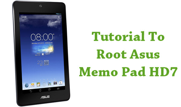 How to root Asus Memo Pad HD7