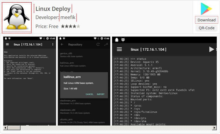 Download Linux Deploy App