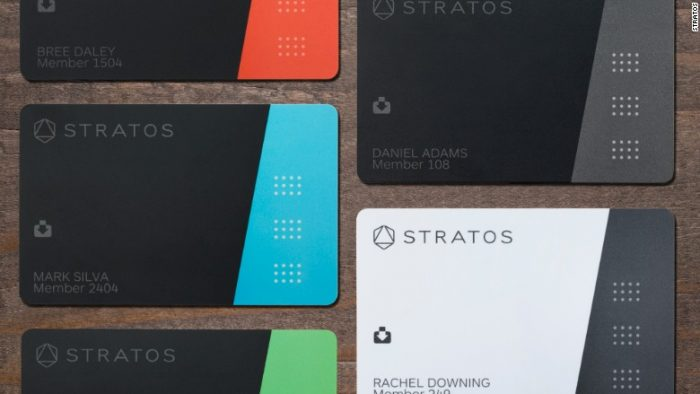 Stratos Card All-in-one Connected Card