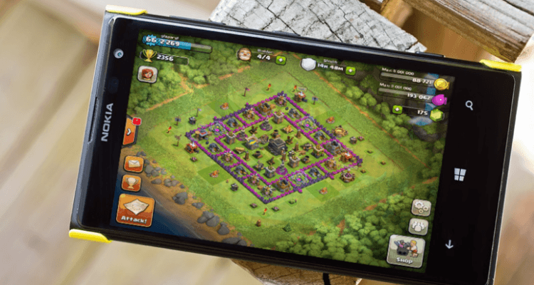 Download Clash of Clans For Windows Mobile Phone