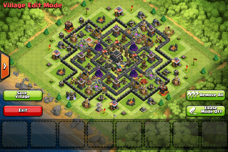 How to create a good Clash of Clans TH9 Trophy Base