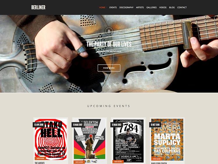 Berliner WordPress Theme Free Download
