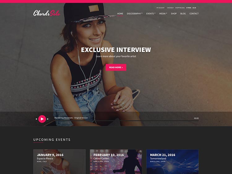 Chords WordPress Theme Free Download