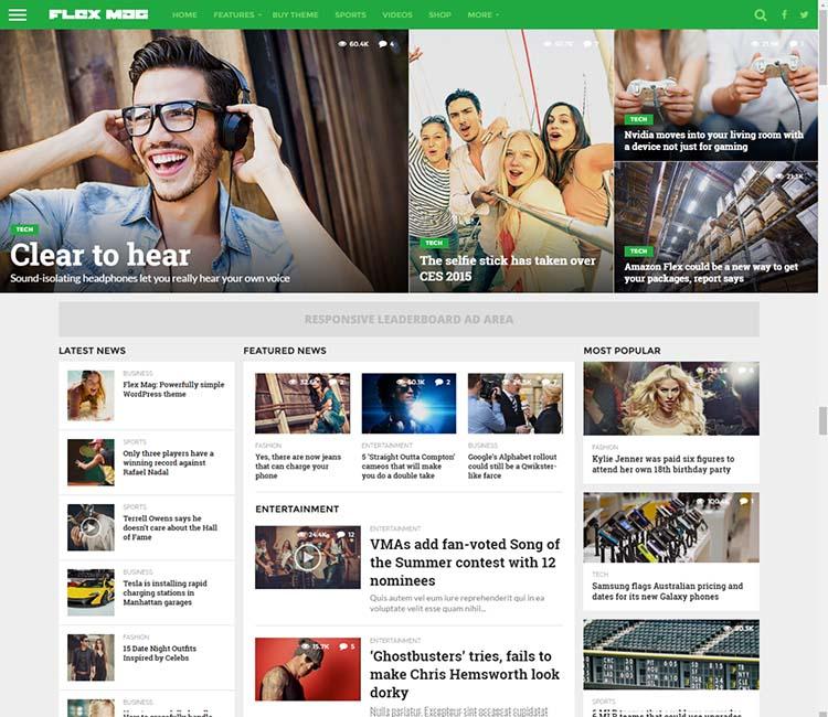 FlexMag WordPress Theme Free Download