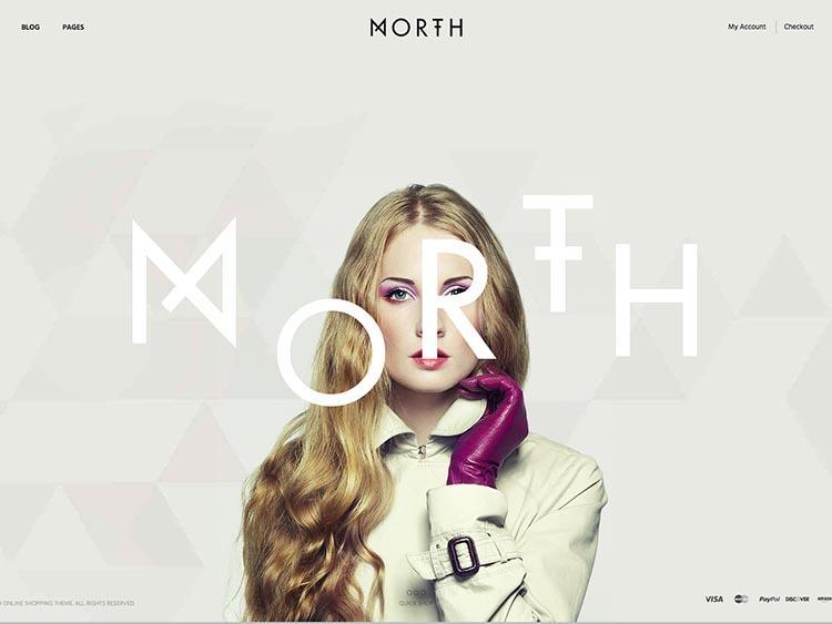 North WooCommerce WordPress Theme Free Download