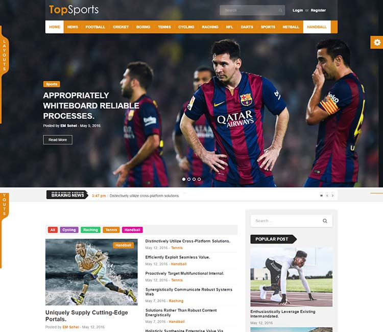 TopNews Wordpress Theme Free Download