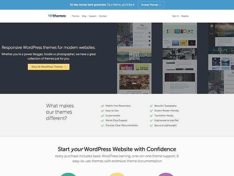 UpThemes WordPress Theme Free Download