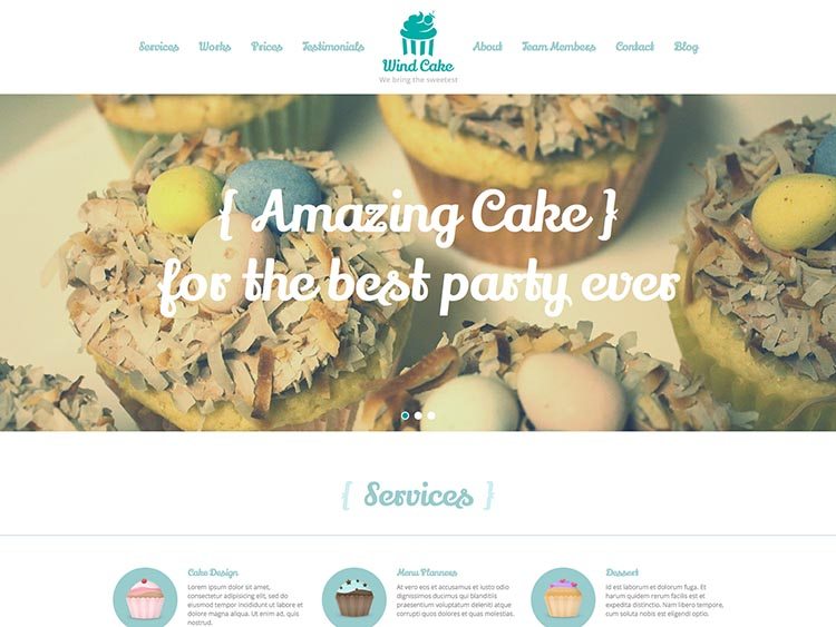 WindCake WordPress Theme Free Download