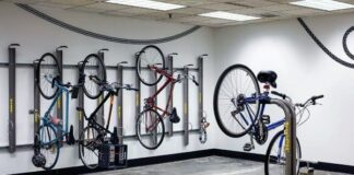 Versatile Indoor Bike Racks
