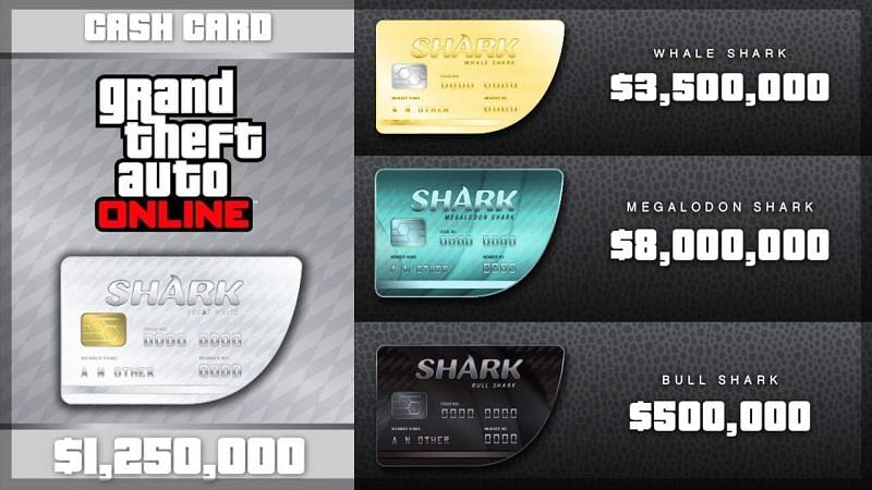 What are GTA Shark Cards