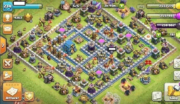 What is the Clash of Clans account