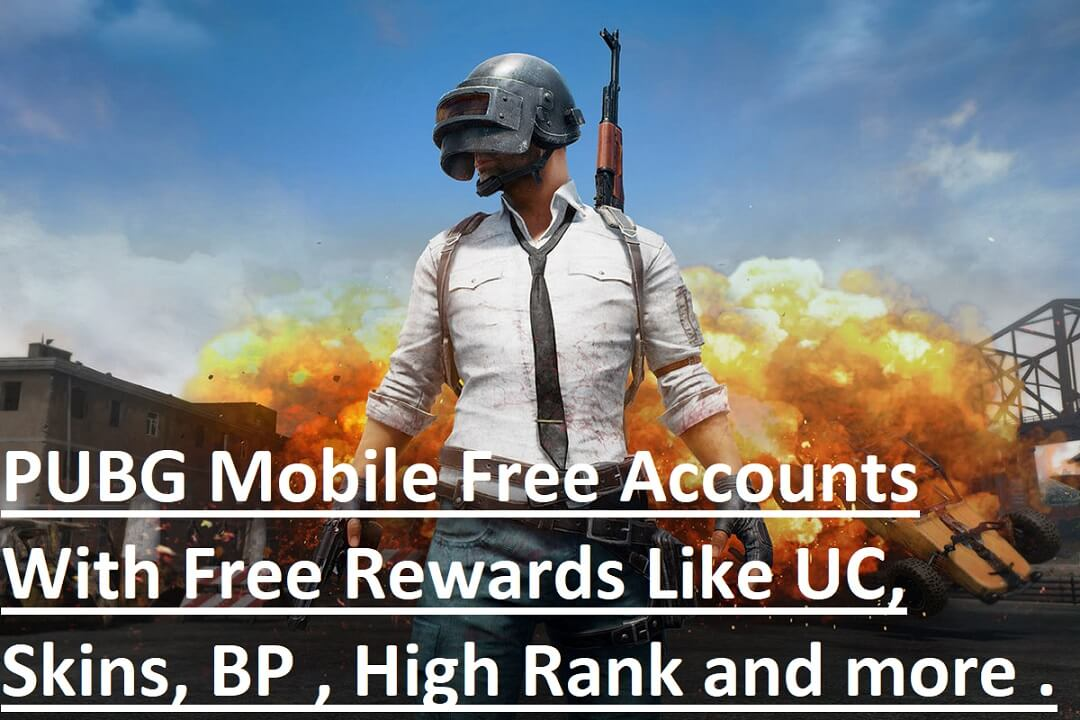 PUBG Mobile Free Account Rewards
