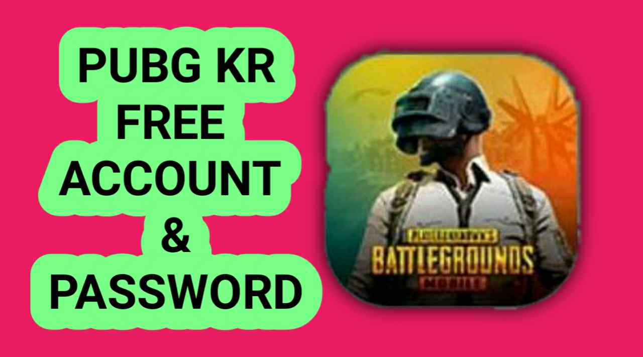 Free PUBG Mobile IN Accounts With Password
